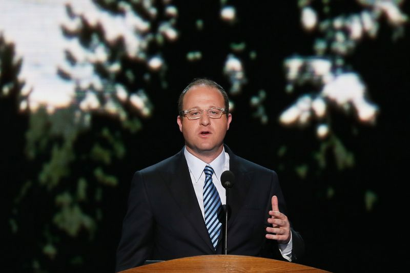 Rep. Jared Polis (D-CO) speaks during day one of the Democratic National Convention in 2012