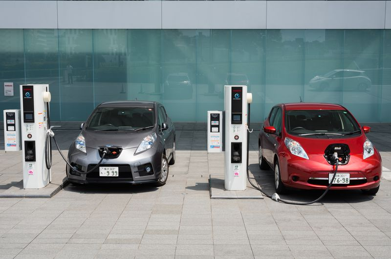 ev_charging_station Electric vehicles are gaining momentum, despite Trump
