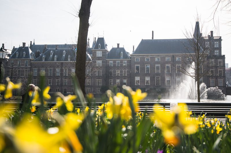 Views Of The Dutch Parliament Ahead Of The General Election