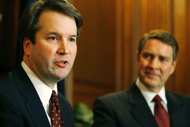 71009724.jpg Trump's reported Supreme Court finalists: Brett Kavanaugh, Amy Coney Barrett, and Raymond Kethledge