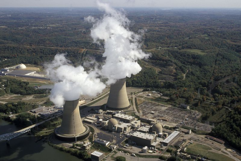 Beaver_Valley_Nuclear_Power_Plant The US is rapidly losing nuclear power. That's profoundly concerning for climate change.