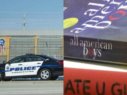 SCBooks.0 A high school put books about police violence on a summer reading list. A police union wants them gone.