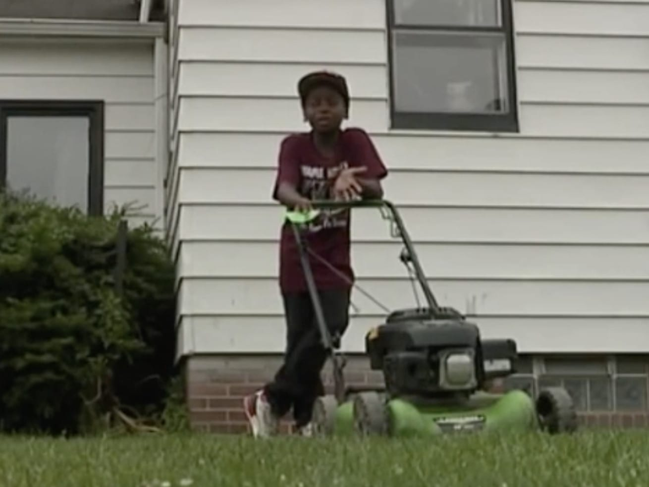 Screen_Shot_2018_07_02_at_3.59.21_PM.0 A black 12-year-old was mowing a lawn. So someone called the police.