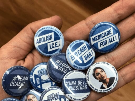 TandemNYC Ocasio2018 Promotional Buttons 1.0