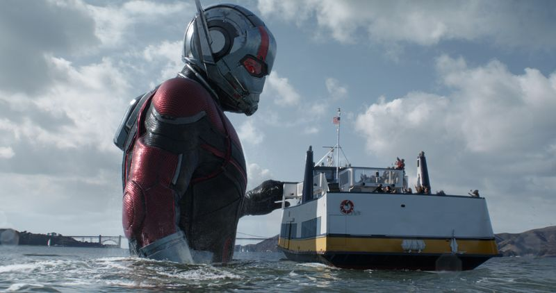 antmanbig The folks behind Ant-Man and the Wasp on why Marvel doesn't always have to save the world