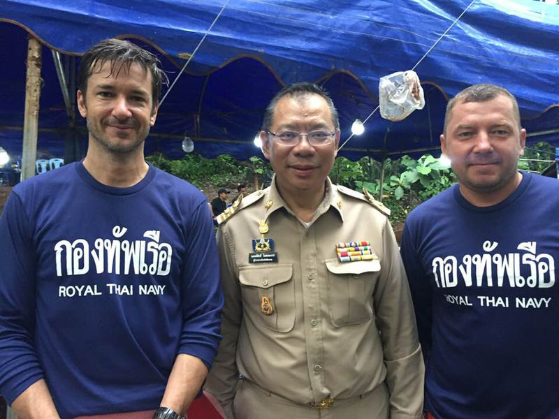 ben Dangerous currents and zero visibility: a diver on the Thai cave rescue mission