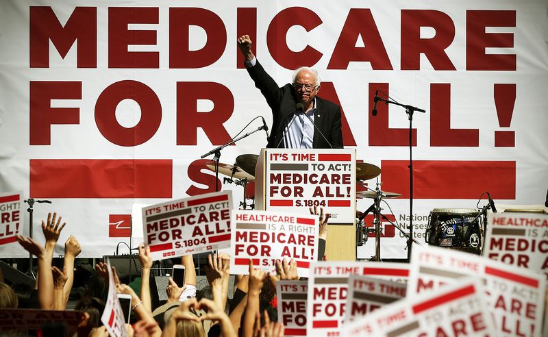 """bernie The """"pleasant ambiguity"""" of Medicare-for-all in 2018, explained"""
