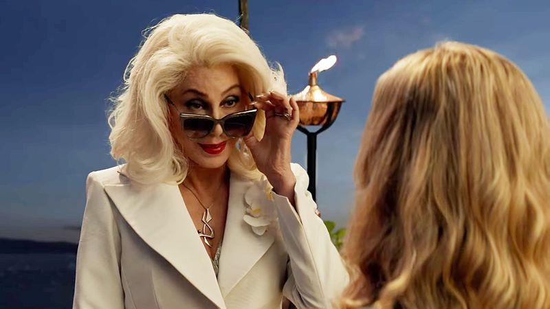 Cher in Mamma Mia Here We Go Again
