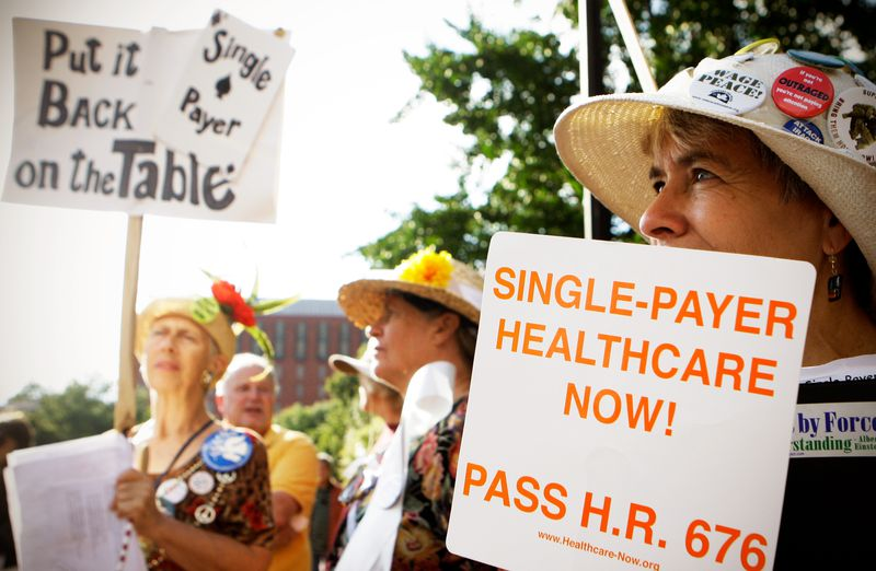 """single_payer The """"pleasant ambiguity"""" of Medicare-for-all in 2018, explained"""